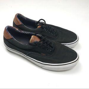 Vans lace up black Sz 10 men's